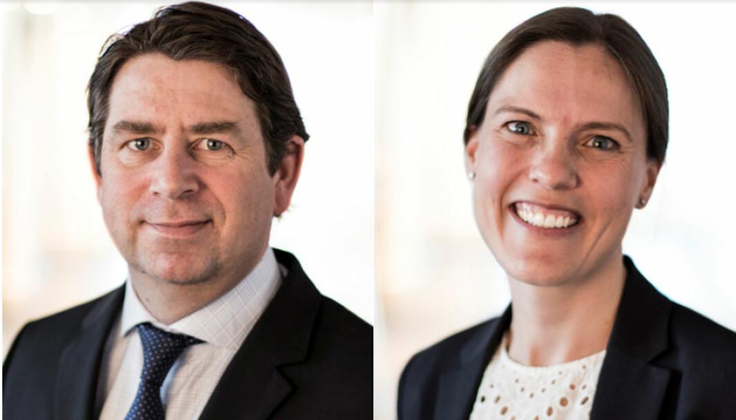 DÅRLIG NYTT FOR UTVIKLERE: - Innstillingen til Fylkestinget om hvordan Viken skal forholde seg til MVA i prosjekter hvor offentlig infrastruktur etableres som oppfyllelse av vilkår for utbygging vil - om den blir vedtatt - være dårlig nytt for boligutviklere, sier Haavind-advokatene Nils F. Bull og Terese Sørli.