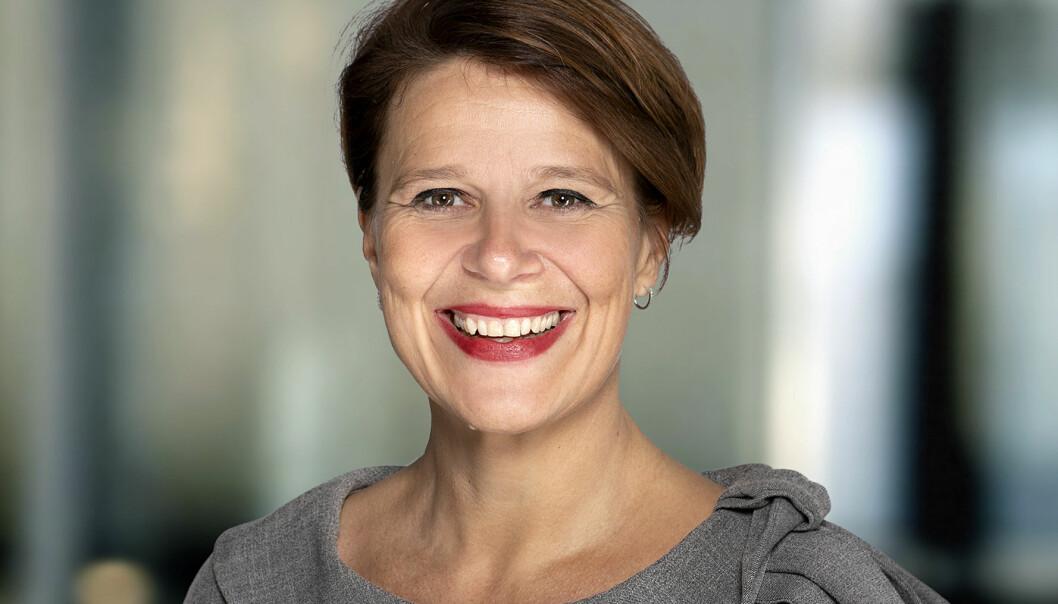 VIL SAMARBEIDE: Tone Tellevik Dahl i Norsk Eiendom vil samarbeide med den nye regjeringen for å få fart på de grønne tiltakene i eiendomsbransjen.