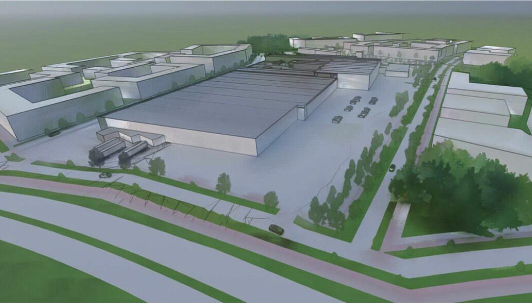 150.750 KVM: I redegjørelsen til PBE skisseres det en fremtidig situasjon med bebyggelse opp mot 150.750 kvadratmeter.