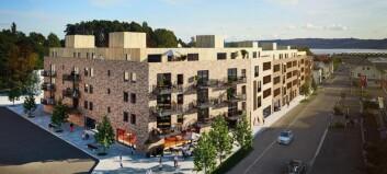 Fortetter med over 100 nye leiligheter i sentrum (+)