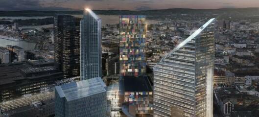 Norges høyeste kontorbygg fikk leieinntekter på 168 millioner (+)