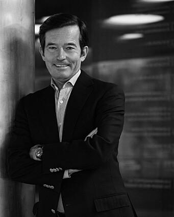 SPENNENDE OG MER MORSOMT: Trond Riiber Knudsen er mentor og investor i rundt 60 tidligfaseteknologibedrifter. Foto Elena Sellberg