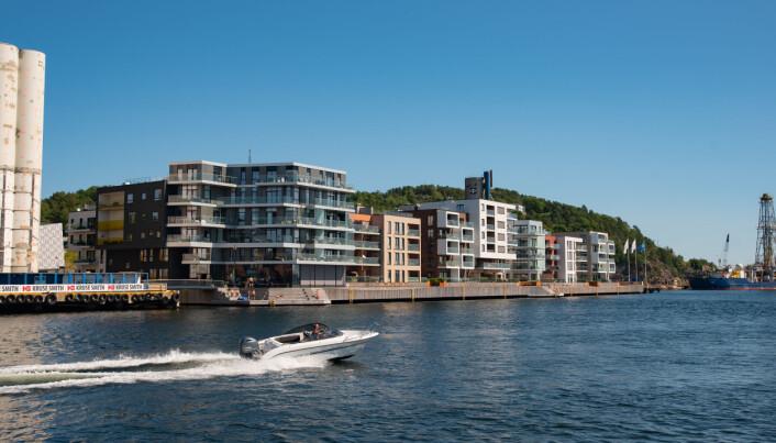 KANALBYEN: J.B. Ugland Eiendom og Kristiansand Havn står bak prosjektet Kanalbyen der de skal bygge for over to milliarder kroner totalt.