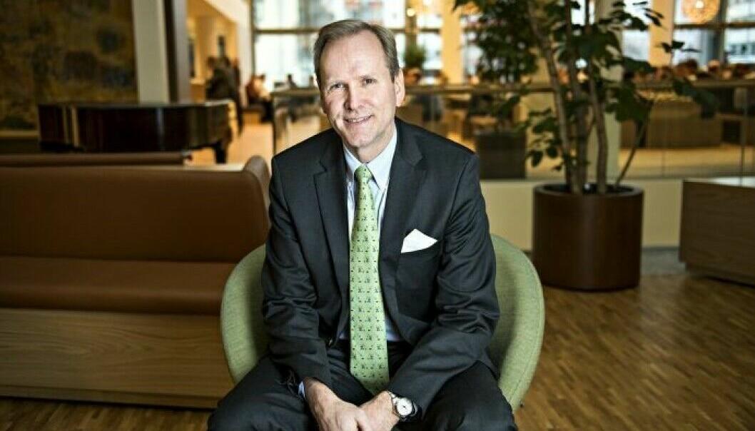 STORT SEGMENT: Thomas Due forteller om et stadig viktigere eiendomssegment i obligasjonsmarkedet.