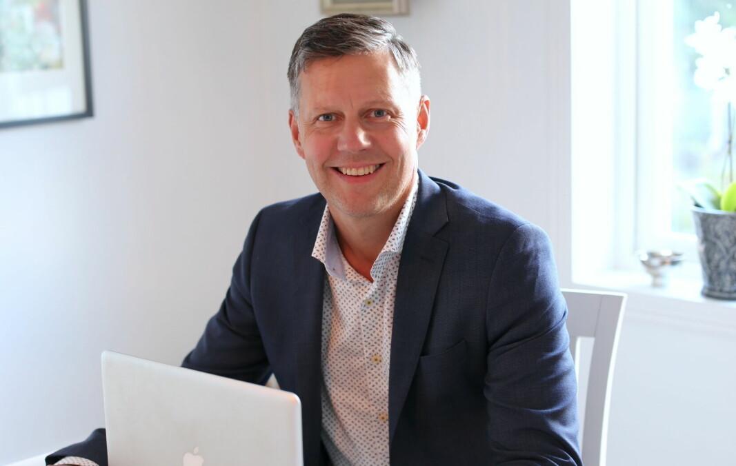 NY: Patrik Ölvebäck er ny sjef i IWG.
