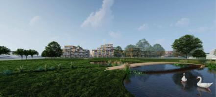 Foreslår 100 nye boliger på Høvik