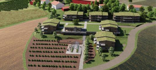 Gårdstun i Bærum forfaller. Vil finansiere oppgradering med 60 seniorboliger