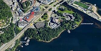 Entra ser store muligheter for kremområde i Sandvika (+)