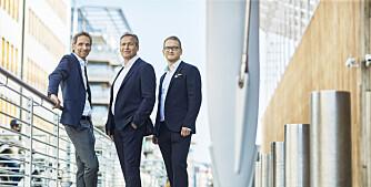 Styrker teamet med tre prosjektledere