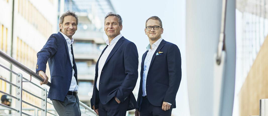 NYE: Andre Kristiansen, Marco Savolainen og Aleksi Kohonen.