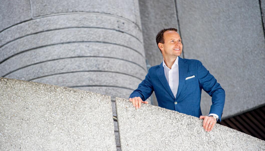 AMBISJONER: Morten Kjeldby blir daglig leder i selskapet som har en langsiktig ambisjon om 10 milliarder i eiendomsverdier.