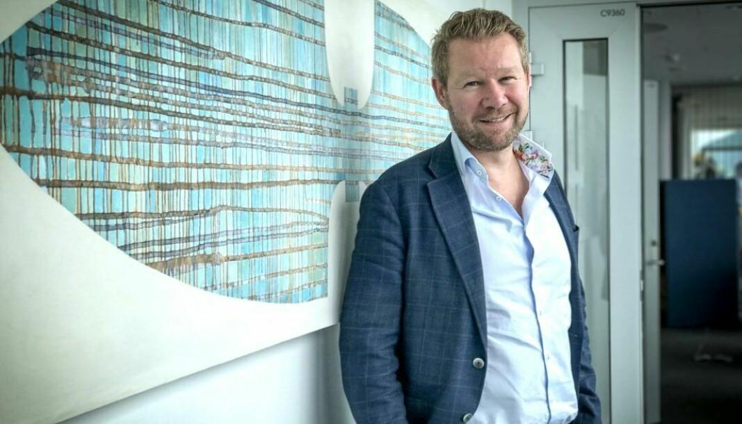 STARTER EGET: Anders Mehus Coucheron slutter i Hundholmen Byutvikling, .