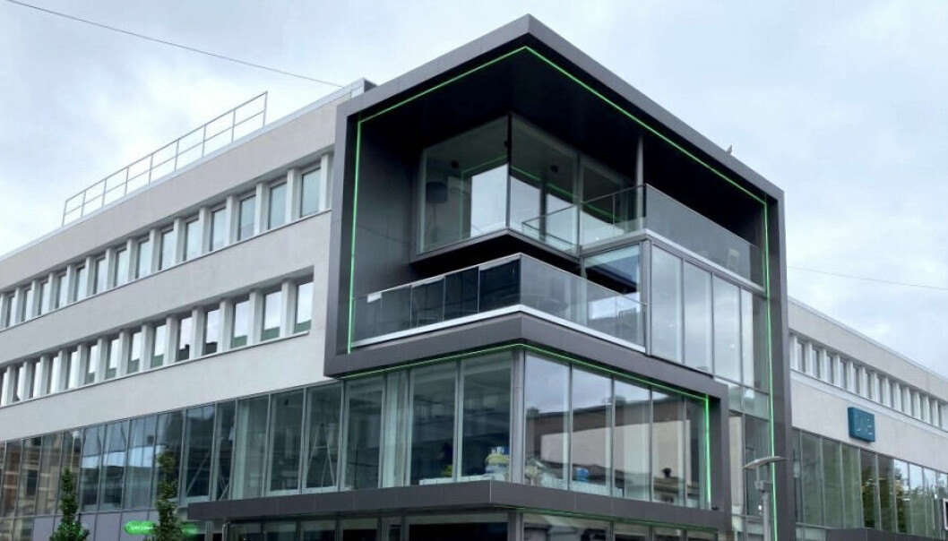 SOLGT: Nå har den ene halvparten av denne eiendommen fått ny eier.