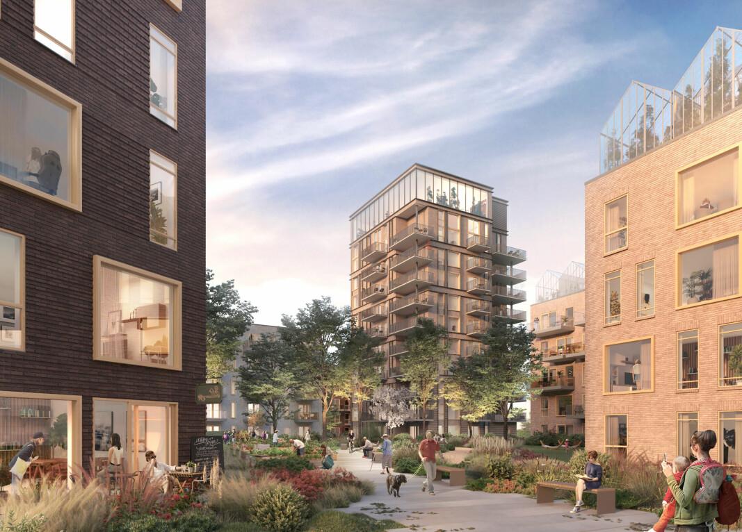 STORT: Det nye boligprosjektet skal utvikles over flere år.