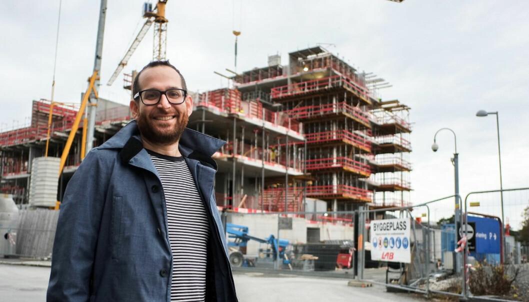 VEKST: Daglig leder i Bygr, Guy Montuelle, har fått inn penger til videre vekst.