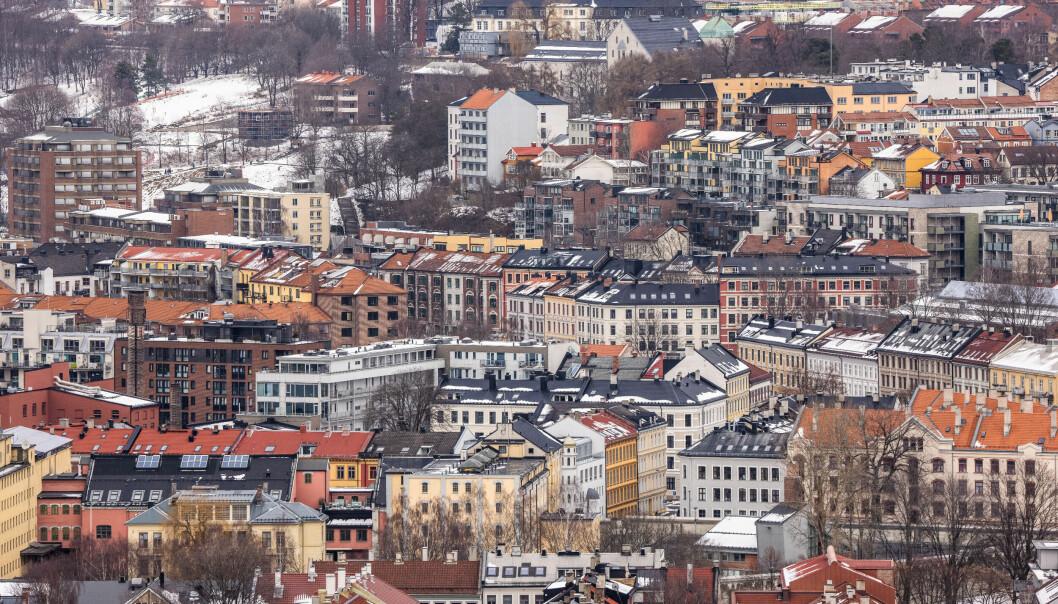TETT BY: Grønland og Tøyen er et område med høy befolkningstetthet.