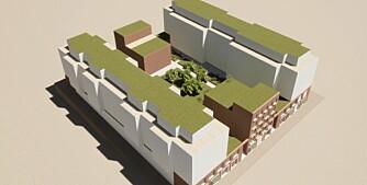 Vil bygge nye boliger mellom eksisterende blokker på Sandaker