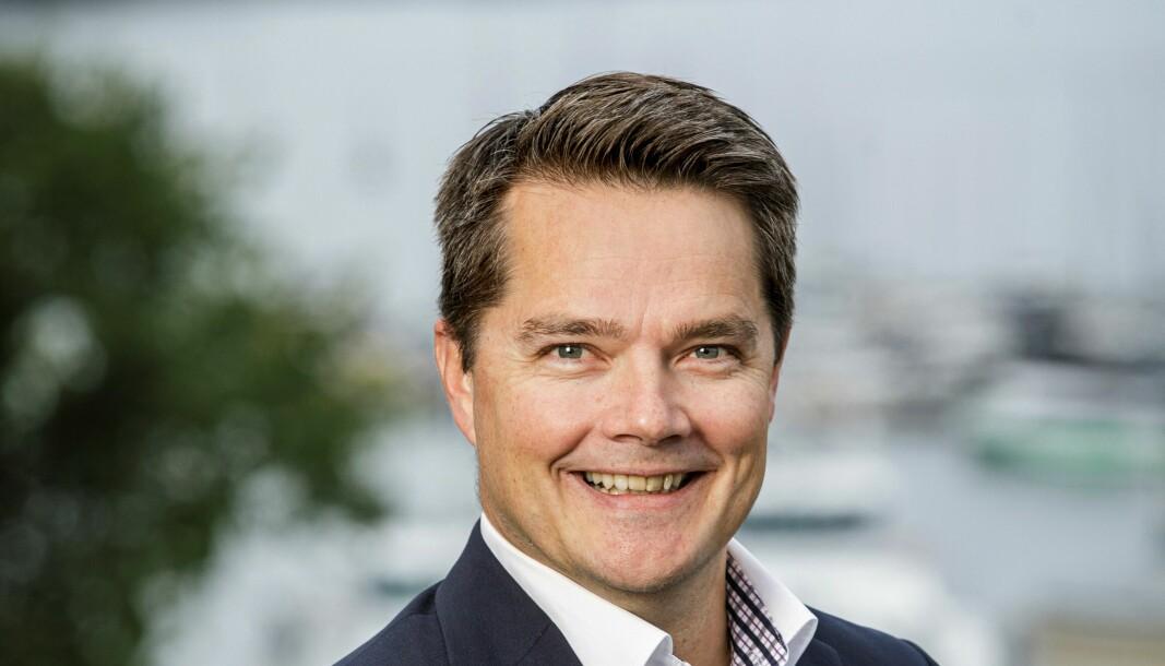 FRA URBANIUM TIL FAGERSTAD UTVIKLING: Joakim Nordin.