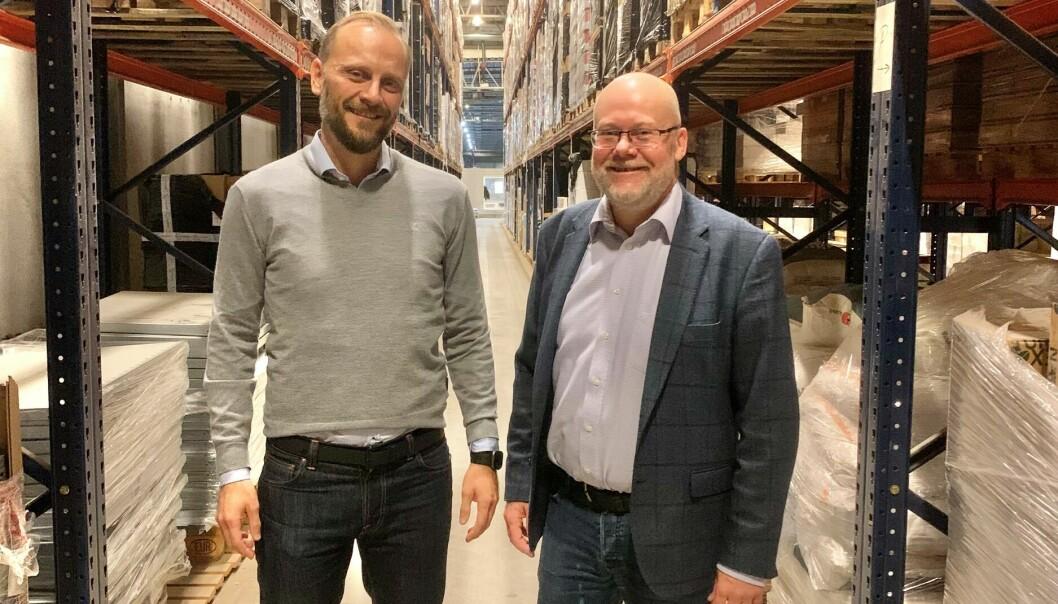 STARTER OPP: Steffen Larvoll og Tom Jarle Dehkes starter konsulentselskapet NovaRetail.