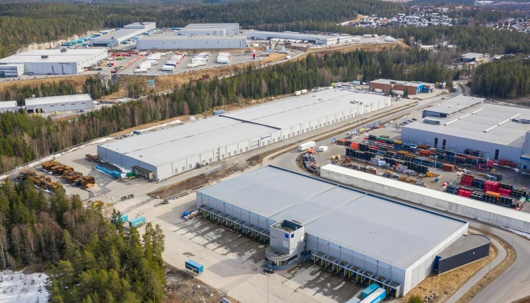 HETT MARKED: Det nordiske logistikkmarkedet er brennhett. Her representert ved Snipetjernveien-eiendommen som Bulk Industrial Real Estate kjøpte fra Ferd i sommer.