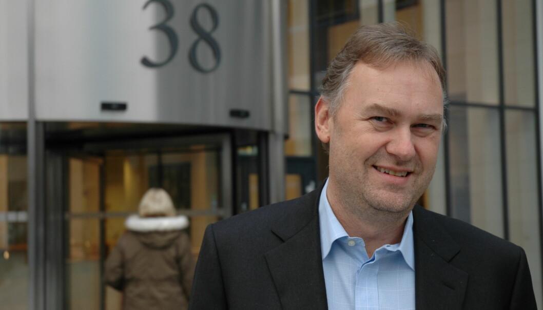 SKAL KJØPE: Nils Arne Gundersen skal ut i markedet for å kjøpe eiendom.