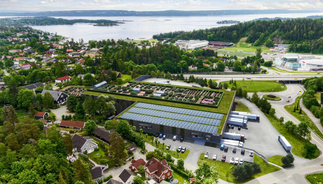 FRA URTER TIL NOE HELT ANNET: : I dag er det produksjon av urter i gartneriene på Ravnsborg gård, men om noen år er det kanskje produksjon av helt andre varer på eiendommen. Foto: Bonum & Astrup og Hellern.