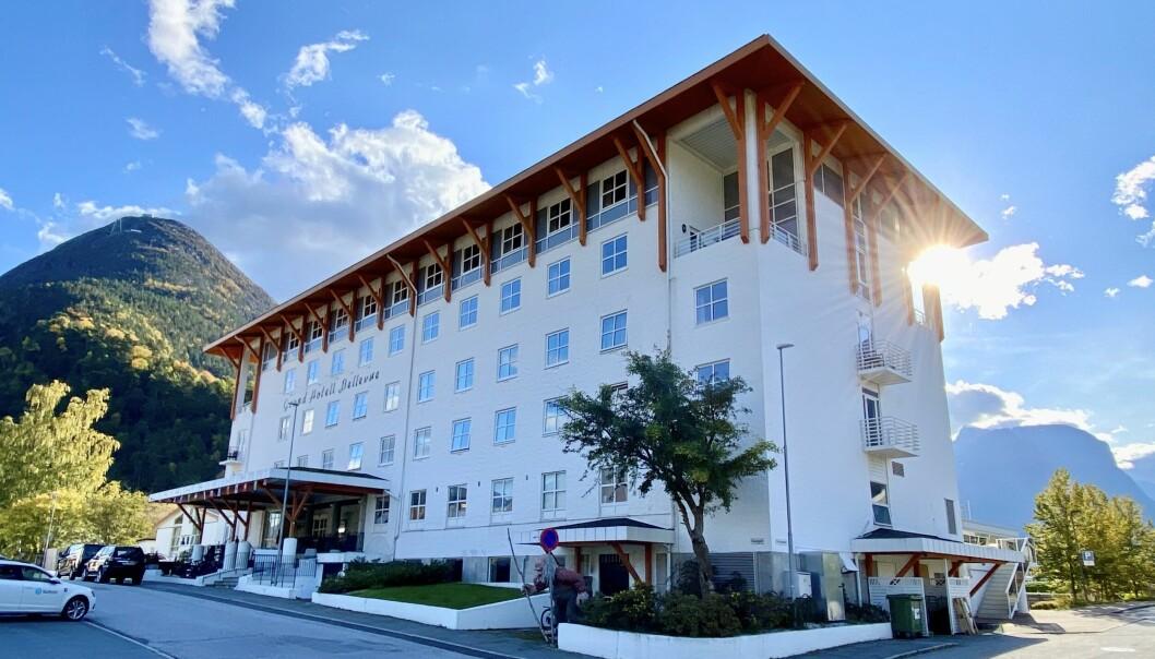 UTVIDES: Dagen hotell skal få nesten dobbelt så mange rom de neste årene.