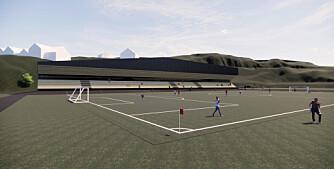 Idrettslag i Oslo vest vil bygge innendørs fotballbane