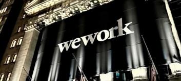 WeWork-kursen opp over 13 prosent etter børsnotering