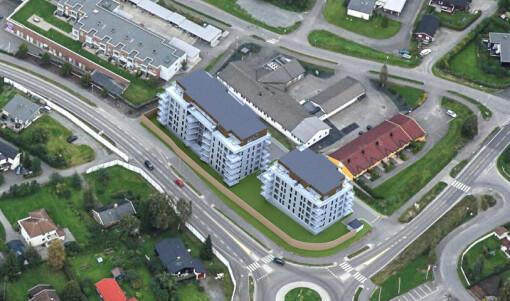 Stadig flere innbyggere betyr flere boliger, nå er det grønt lys for 72 nye leiligheter (+)