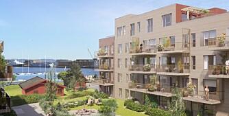 Pangstart for boligprosjekt ved sjøen
